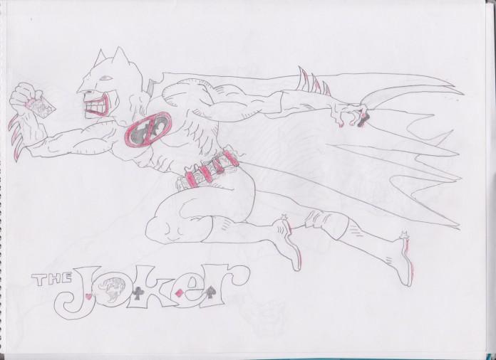 Joker Batman 001